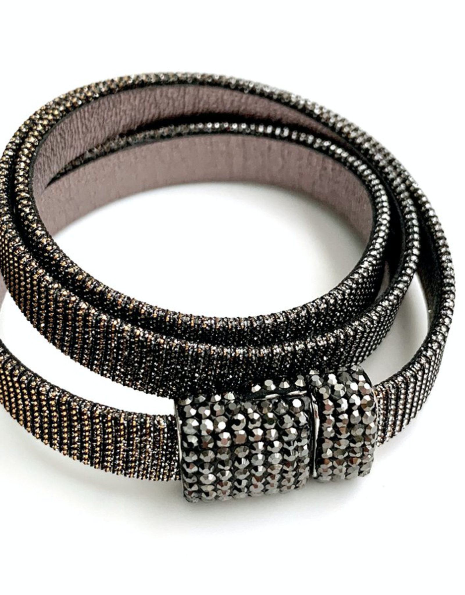 Erin Gray Triple Wrap Leather Bracelet