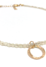 Erin Gray Neutral Shimmer Necklace