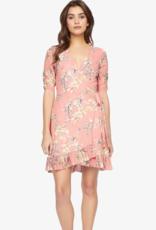 Sanctuary Wrap Mini Dress
