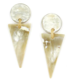 Sunshine Tienda Natural Arrowhead Earring