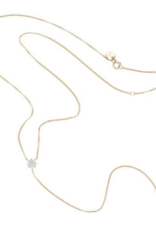Charlotte Haln 14K Gold Lariat Necklace