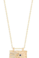 By Charlotte Gold Wish Necklace