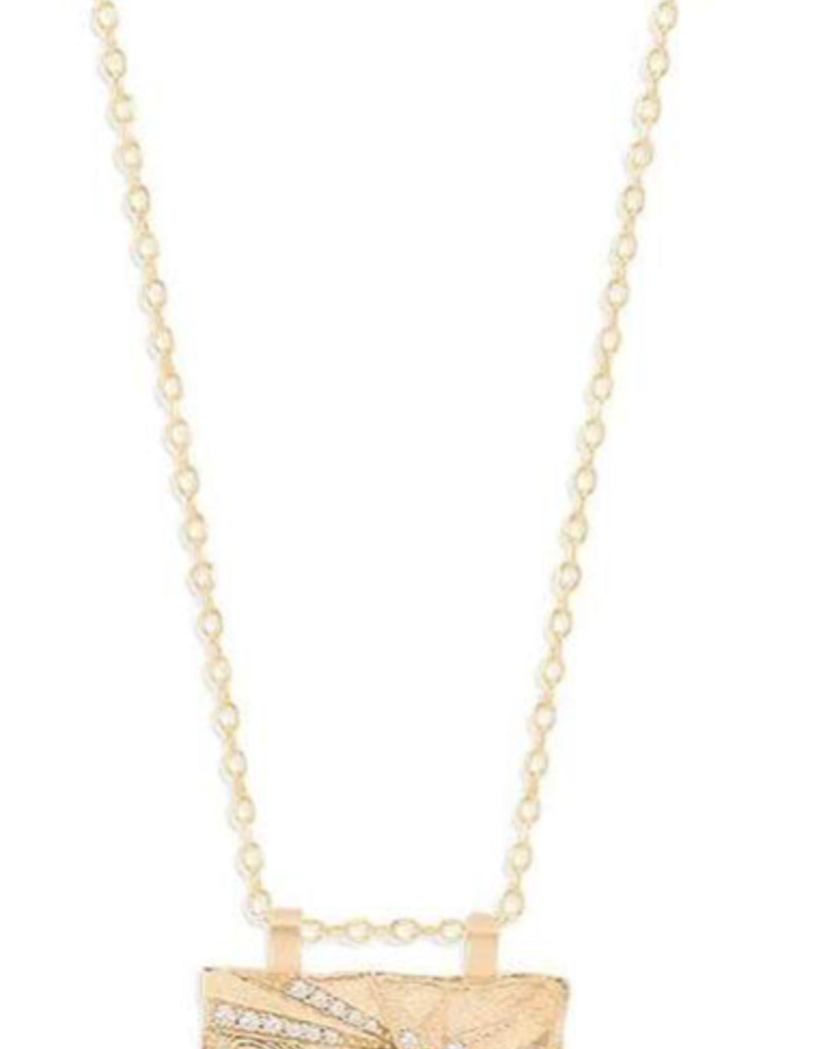 Charlotte Gold Wish Necklace