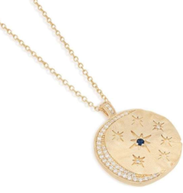 Charlotte Gold Heavenly Moonlight Necklace