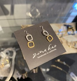 Zina Kao Zina Kao - Double Tiny Square Earring
