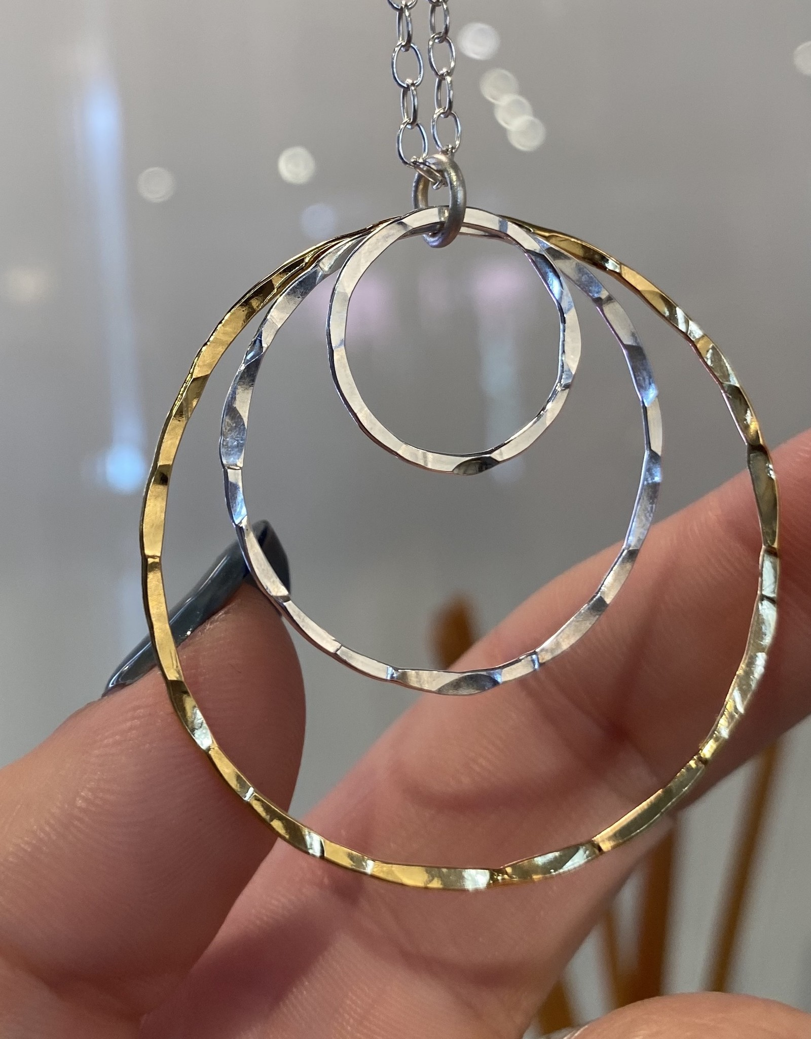 Zina Kao Just Rings Multi Ring Necklace