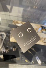Zina Kao Silver Ring Post Earring