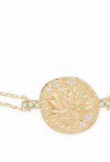 By Charlotte Gold Goddess of Earth Bracelet
