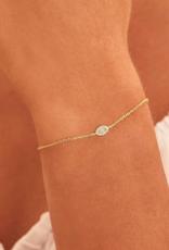 By Charlotte Gold Eye of Protection Bracelet