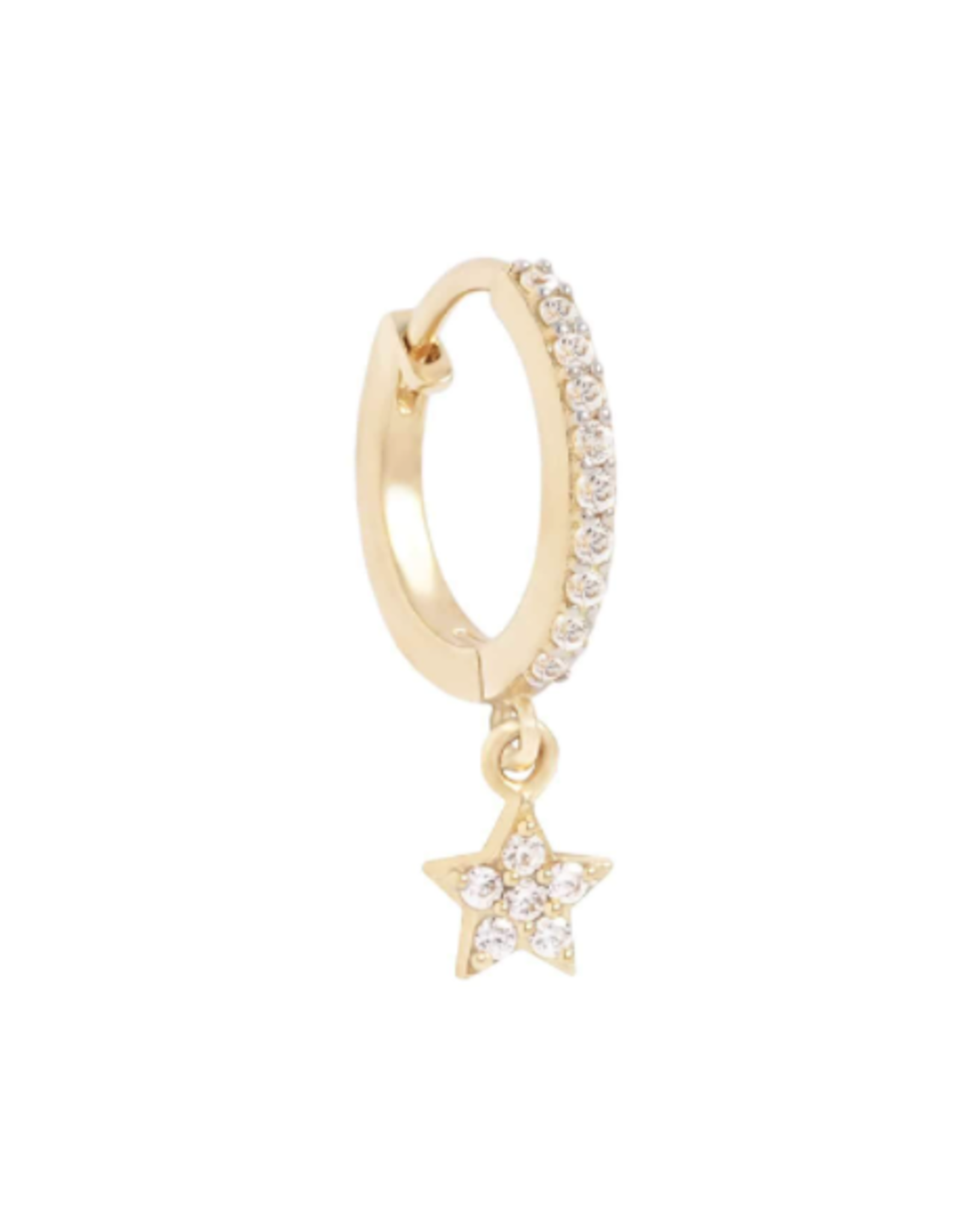 By Charlotte 14k Gold Dance Under the Stars Hoop