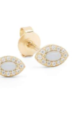 By Charlotte By Charlotte Gold Eye of Protection Earrings