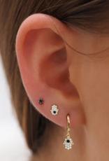 By Charlotte 14k Gold Hand of Hamsa Earring