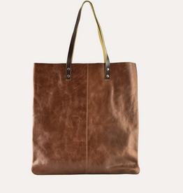 Kiko Leather Classy Brown Tote