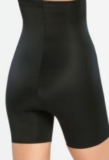 High-waisted mid-thigh Short
