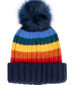 San Diego Hat Co San Diego Hat Company Women's Rainbow Stripe Knit Hat