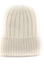 San Diego Hat Co San Diego Hat Co. Women's Ivory Cuffed Beanie