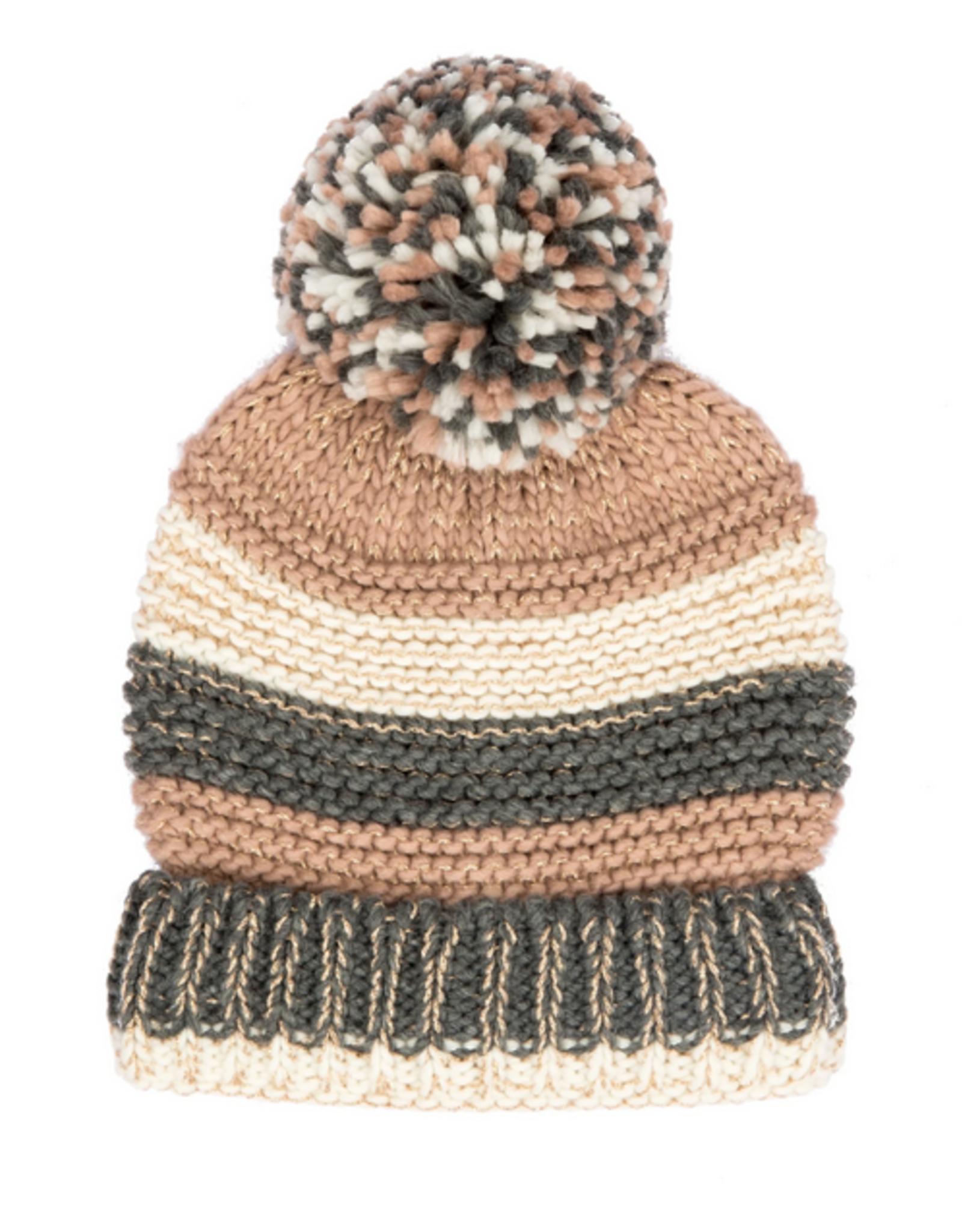 San Diego Hat Co San Diego Hat Co. Women's Knit Stripe Beanie