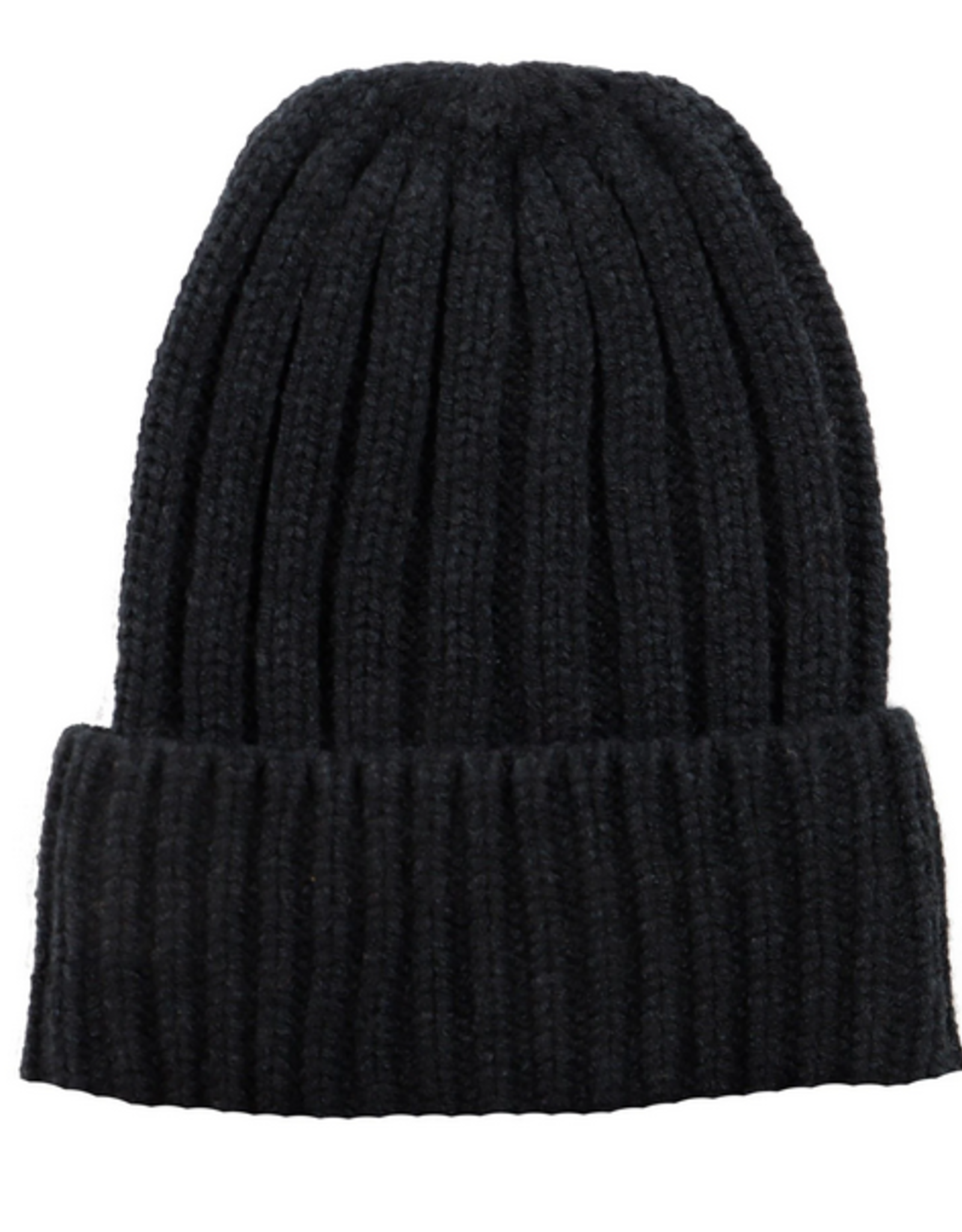 San Diego Hat Co Women's Black Cuffed Beanie