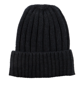 San Diego Hat Co Women's Black Cuffed Beanie