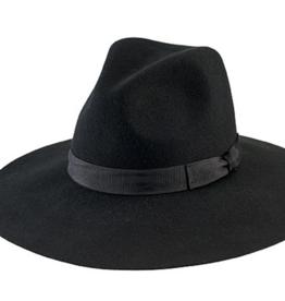San Diego Hat Co Women's Floppy Fedora Black