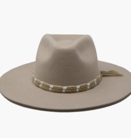 Wyeth Emery Felt Hat with Rope