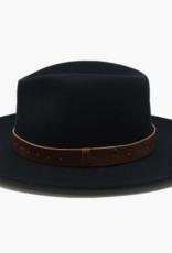 Wyeth Harper Felt Hat with Leather