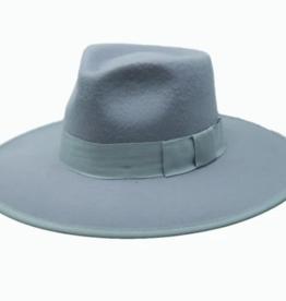 Wyeth Carter Felt Hat with Ribbon