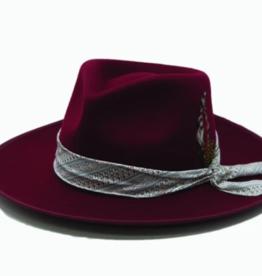 Wyeth Skylar Felt with Feather Hat