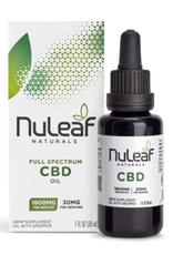 NuLeaf Naturals CBD Oil 900mg