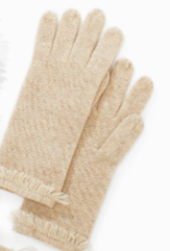 Look By M Look by M Premium Cashmere Fringe Gloves