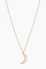 Gorjana Luna Crescent Necklace