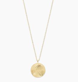 Gorjana Azul Coin Pendant Necklace