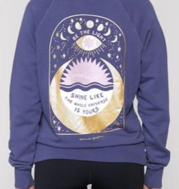 Spiritual Gangster Spiritual Gangster Shine Classic Crew Sweatshirt