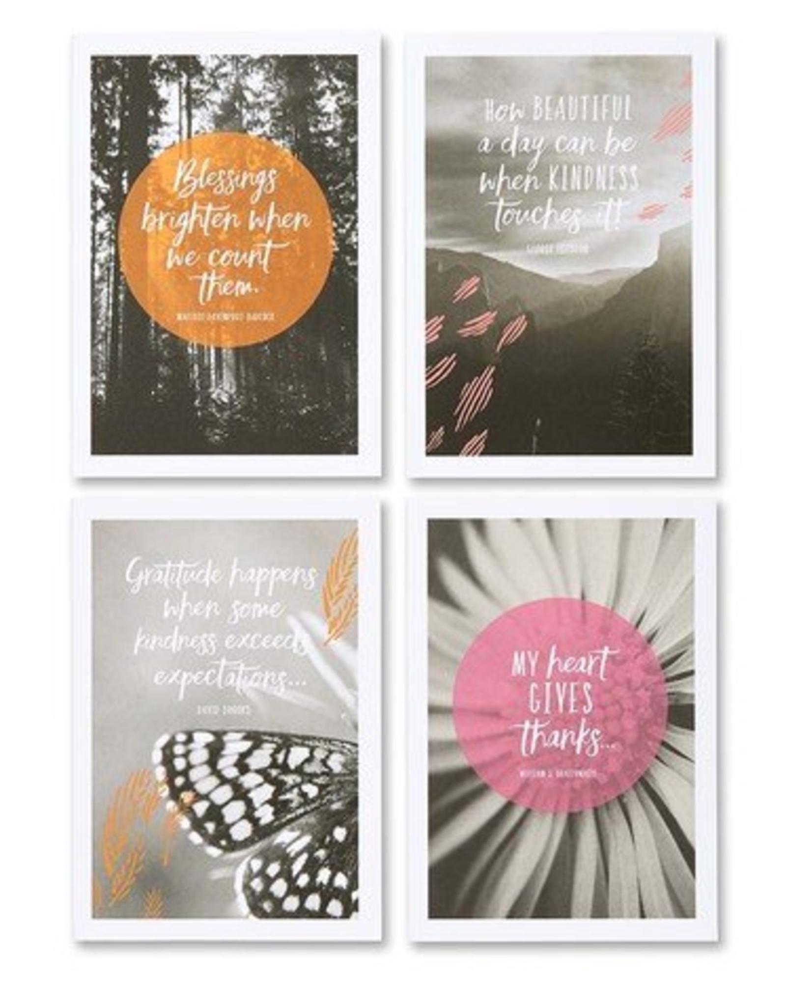 Compendium Sharing Gratitude Note Card Set