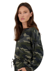 BB Dakota Nothin' To See Here Top - Army Green