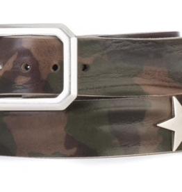Brave 1992 Arno Olive Camouflage Star Belt