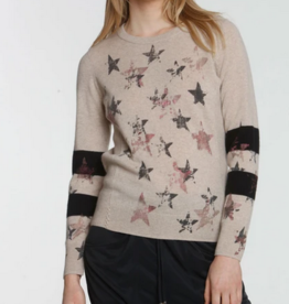 LABEL+thread Label + Thread Faded Star Crew Sweater