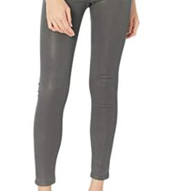 Hudson Nico Mid-Rise Super Skinny Jeans in High Shine Dark Slate