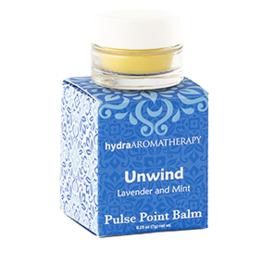 Hydro Aromatherapy Pulse Point Balm, Unwind
