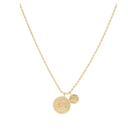 Gorjana Gorjana - Fiore Coin Necklace