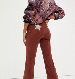 Free People Fire Cracker Cord Flare Jeans