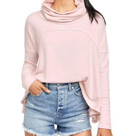 Free People Free People Cozy Time Funnel Pullover