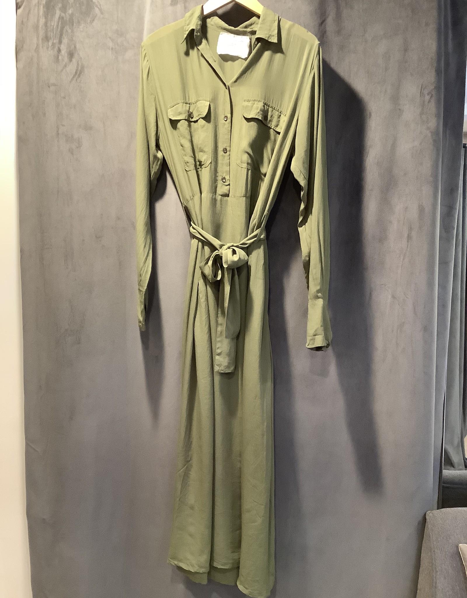 acacia Acacia Georgia Tencel Dress