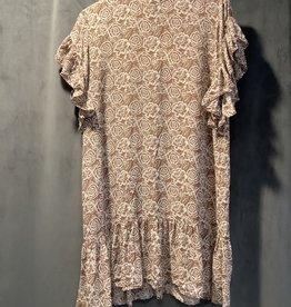 acacia Zoe Cupro Dress