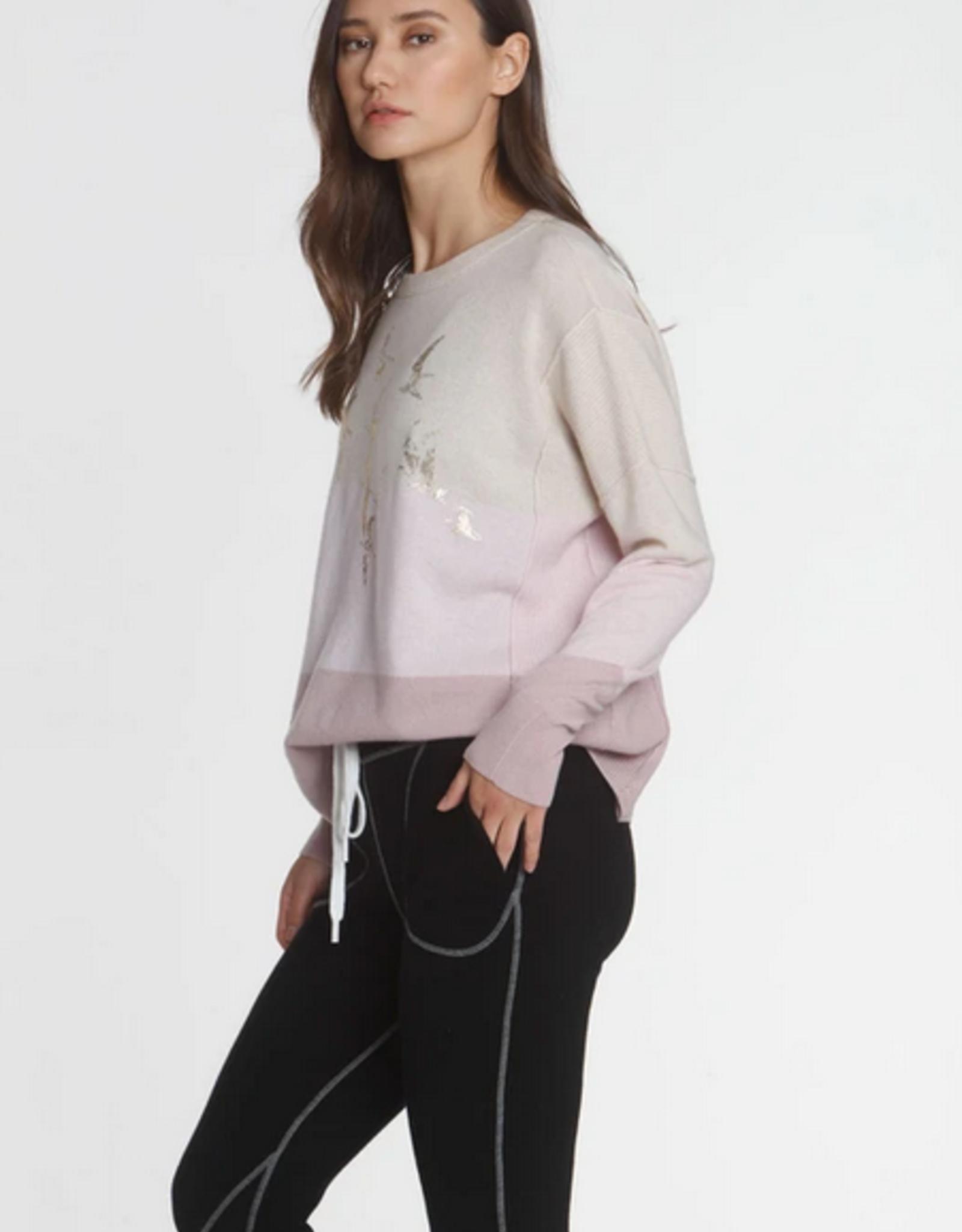 LABEL+thread Sunset Wide Scoop Sweater