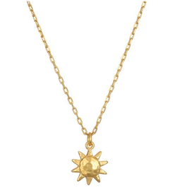 SATYA Jewelry Here Comes The Sun Necklace