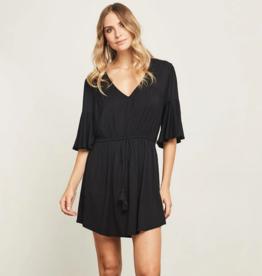 Gentle Fawn Marianne Black Dress