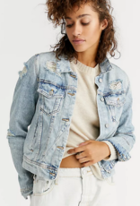Free People Rumors Denim Jacket