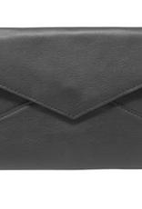 Latico Leathers Black Remi Clutch