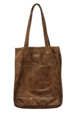 Latico Leathers Mocha Margie Bag